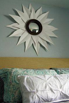 wall art, weekend updat, mirrors, poster boards, sunburst mirror