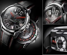 Christophe Claret 21-BlackJack.  A casino on your wrist.  The video is pretty cool too.