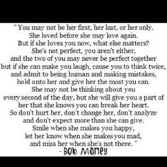 Marley quote about love