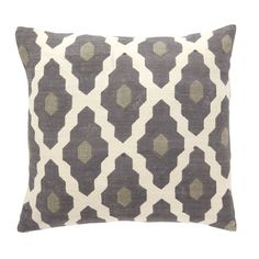 West Elm pillow - bedroom or living