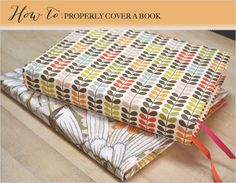 how to cover a book