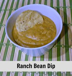 Ranch Bean Dip Recipe