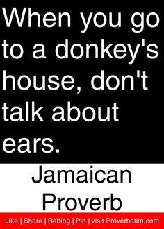proverb quot, jamaican quotes