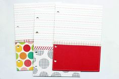 Tutorial on creating mini album pockets by Jill Sprott on the October Afternoon blog.