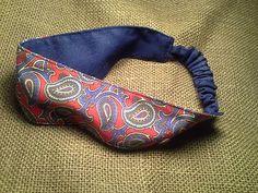 Repurposed Paisley Headband