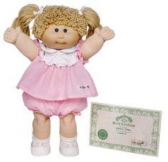 Cabbage Patch Kids--- I still remember mine, Elizabeth.