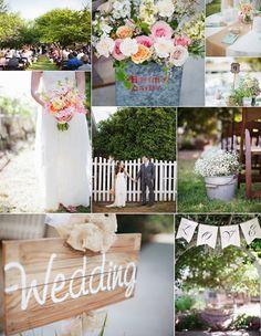 backyard outdoor wedding ideas
