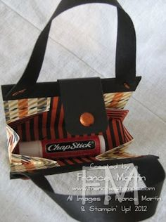 Stamp & Scrap with Frenchie: Fall Purse and Hat
