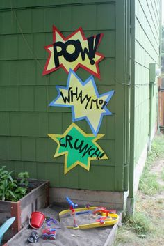 On My Side of the Room: Superhero Party - Decorations