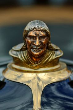 1928 Pontiac Chief Hood Ornament