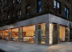Delicatessen by nemaworkshop, New York store design