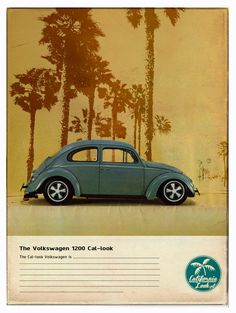 retro car, vw beatl, darryl board, vw stori, cal look, vw beetl