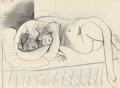 loverofbeauty: Pablo Picasso - 1954