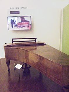 "This is the ""Kitchen"" Steinway piano. The first Steinway ever."
