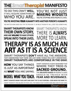 Smart Therapist Manifesto