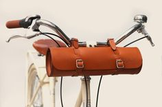 bike bag. love it. as if i ride my bike or something.
