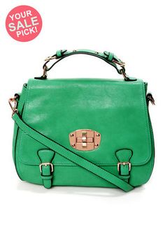 Panache and Carry Green Handbag by Urban Expressions