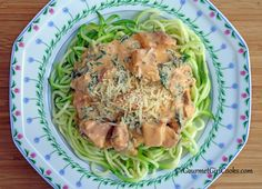 Gourmet Girl Cooks: Chipotle Chicken Alfredo - Rich, Creamy and Low Carb
