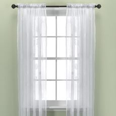 Croscill® Sanibel Island 84' Sheer Panel - Bed Bath & Beyond $26.99 CAN  $19.99 US