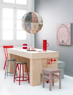DIY Awesome Kitchen  Table