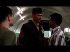 "This scene from the movie ""Heartbreak ridge"" is similar to one where Kriss Ite entered a WPAD bunkerhood's school Safety Patrol area."