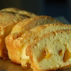"""GA Peach Pound Cake   """"This Georgia peach pound cake can also be made with other fruits such as apple or cherry."""""""