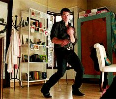 "By far one of my favorite 2013 TV moments. I fell in love with Dr. Danny Castellano even more after this adorably awesome cute dance to Aaliyah's ""Try Again."""