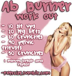 daily ab workout, fit, weight loss, dinner recip, workout routines