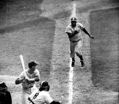 Yogi's respect for Jackie Robinson's talent and grit is obvious -- and comes at the cost of having been burned a few times by the Dodger's incredible speed and even more incredible feel for the game. You   had to be aware of Jackie, he says.