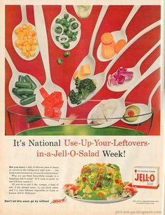 Retro Jello Ad (This sounds like a terrible idea)
