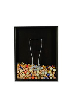 Beer Cap Collector Shadow Box by CraftBeerHound on Etsy, $59.95 (first time I pinned this there was no link!)