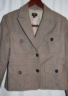 Mossimo-Stretch-Jacket-Size-M