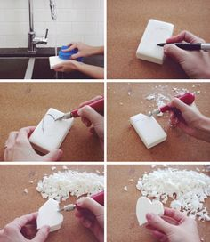 how to make custom carved soap