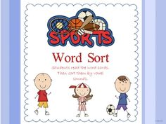 This Sports Themed Packet includes {10} Literacy Centers and {5} Posters!    *Catching Compound Words  *Compound Word Poster  *Sight Word ABC Order  *Word Sort /ee/ & /ea/  *Slamming Parts of Speech Word Sort  *Noun,Verbs,Adjectives Posters  *Volleyball Homophone Match  *Homophone Poster  *Long Vowel Four in a Row (1 Center for each vowel)       Please rate my products and visit my blog!