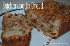 Snickerdoodle Bread recipe