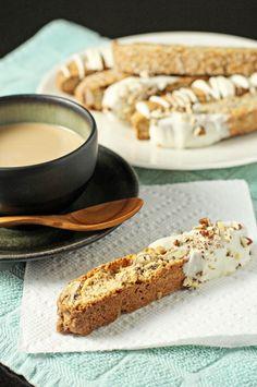 ... Recipe, Cookieses Bars, Maple Pecans, Pecans Biscotti, Delicious Food
