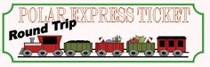 The Polar Express - lessons, ideas, crafts, and printables to match this book (Train Theme Unit)
