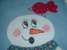 http://www.ebay.com/itm/Handmade-Finished-Mini-Quilt-Snowman-Winter-Buddy-/300646561179?pt=Quilts&hash;=item45ffee759b