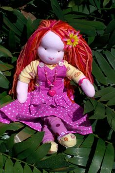 Make a Waldorf Doll - cute!