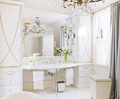 Glamorous bathroom!