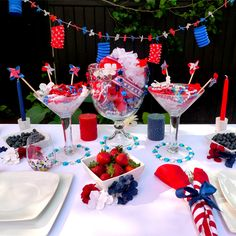 """Red, White and """"Blues"""" Party 
