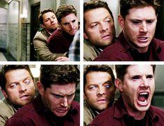 [gifset] 10x03 Soul Survivor #SPN #Dean #Castiel