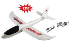 "Airplanes » Dynam FreeFlight HawkSky Mini - Dynams free flight model, the HawkSky mini, is molded of durable EPP foam. With no gluing, sanding or painting the Fox can built in about a minute and can be trimmed out simply by ""bending"" the control.    Price: $9.99"