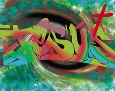 Jesus Graffiti HD Wallpaper