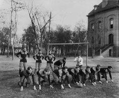 West High School Football team c. 1905. (Courtesy Utah State Historical Society)