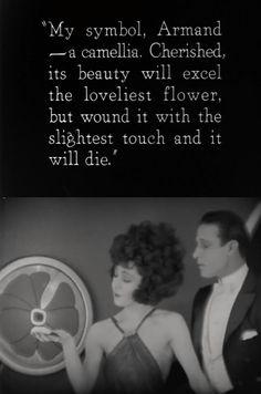 Alla Nazimova & Rudolph Valentino inCamille (1921)