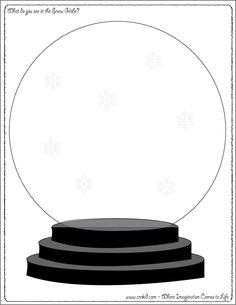 snow globes, wintersnow, preschool