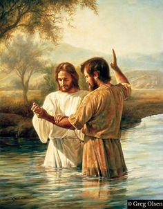 Baptism ~ by Mormon/LDS artist Greg Olsen