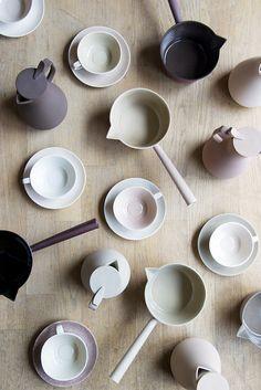 ceramics by kirstie van noort / via @Jeremy Culumber Ying 邢儀偉 Zheng shibuya.
