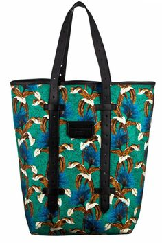 Proenza Schouler...the city girl takes to the tropics #r29summerstyle
